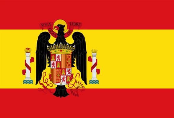 bandera españa franquista