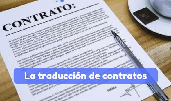la traduccion de contratos