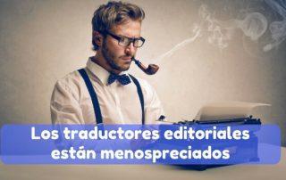 Trabajo de los traductores editoriales profesionales