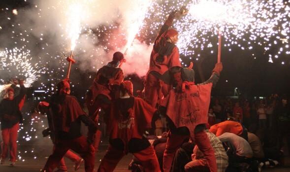 fiestas tradicionales curiosas de Cataluña