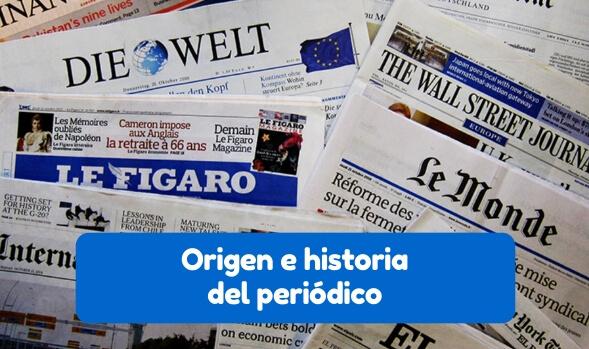 historia internacional del periódico