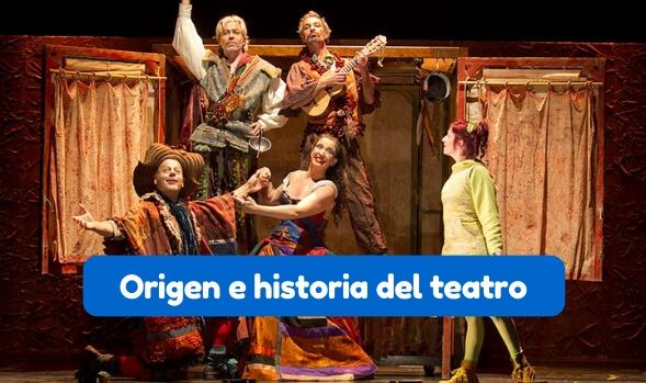 reseña histórica del teatro resumen