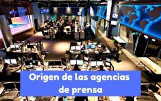 historia de las agencias de prensa
